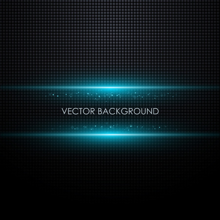 digital design: Abstract vector background with glowing light