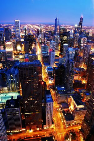 down lights: Chicago by Night