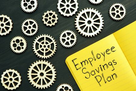 Employee Savings Plan is shown on the conceptual business photo
