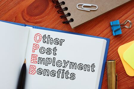 Other Post-Employment Benefits OPEB is shown on the business photo