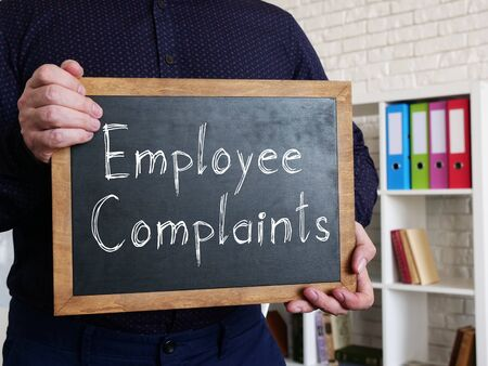 Employee Complaints is shown on the conceptual business photo