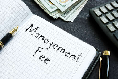 Management Fee is shown on the conceptual business photo
