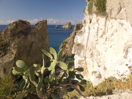 Seaside Cliff at Ponza, Italy