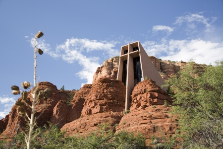 Chapel of the Holy Cross in Sedona  Exterior