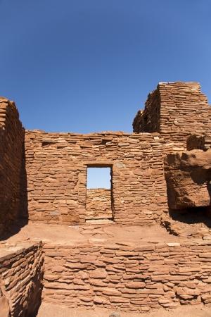 Wupatki의 세부 애리조나 사막에서 유적 스톡 콘텐츠 - 15570141