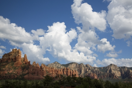 View of The Red Rocks of Sedona photo