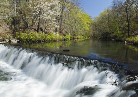 lapse: Time Lapse Waterfall and Stream  soft motion blur