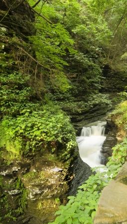 Waterfalls at Watkins Glen  long exposure photography