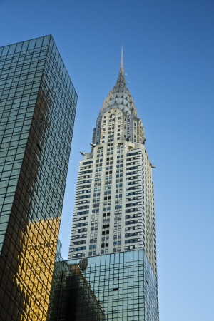View of the Top of the Chrysler Building