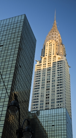 chrysler: View of the Top of the Chrysler Building