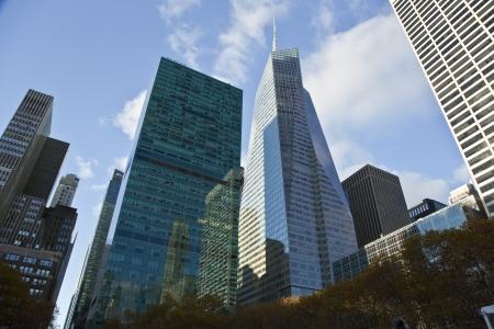 NEW YORK CITY, November 19, 2013  Bank of America Tower in Midtown Manhattan, New York City Stock Photo