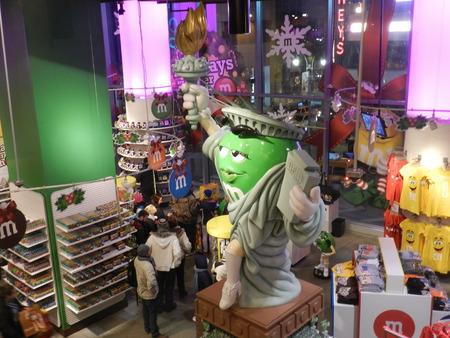 Chocolate store at Manhattan (Xmas)