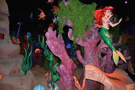 Ariel La Sirenetta - Magic Kingdom di Walt Disney World Archivio Fotografico - 53737249