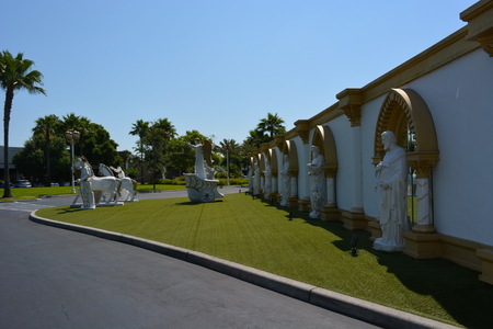 the holy land: The holy land experience. Garden outdoor. Jesus story, Orlando, Florida, USA. Photo taken on May 9th, 2015 Editorial