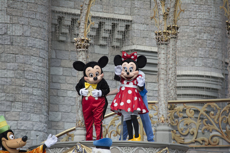 mickey: Mickey Mouse and Friends On Stage at Disney World Orlando Florida