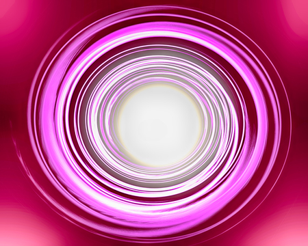 helical: Abstract pink red spiral over dark background