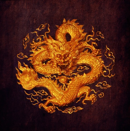 dragon background ,canvas texture