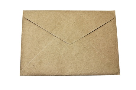 brown envelope ,isolate  Stock Photo - 13153778
