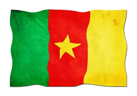 Flag of Cameroon made of Paper