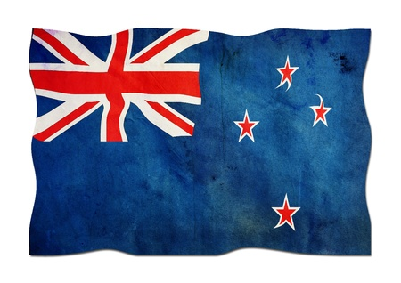 New Zealand Flag made of Paper  Stock Photo - 14255559