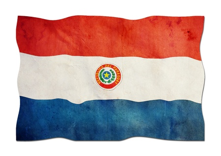 Paraguayan Flag made of Paper
