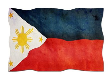 Drapeau philippin en papier