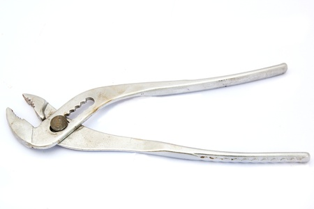 Wrench and Spanner   On a white background  photo