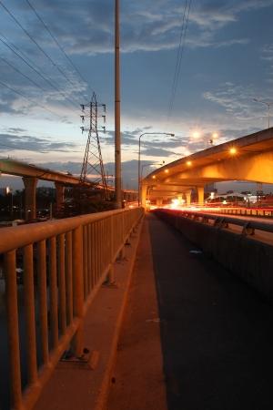 Night motion on  streets Stock Photo - 16526237