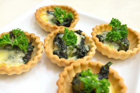 Tart spinach