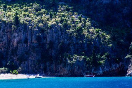 The beautiful nature of the Aegean sea