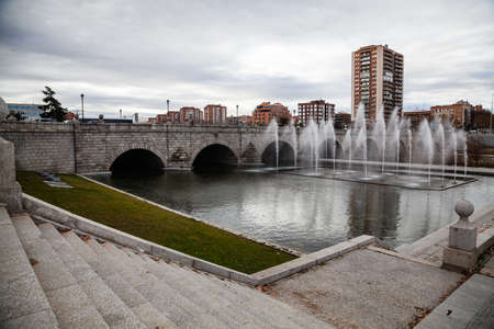 The fontains of Madrid Spain
