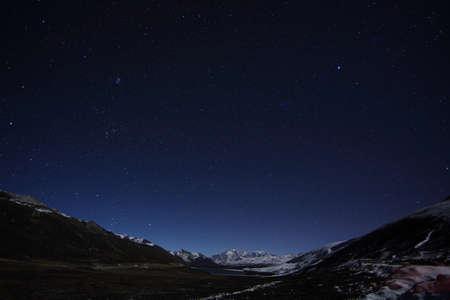 kandinsky: Scenery in the winter, Kangding, Szechuan