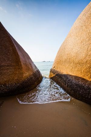 Sanya beach scenery