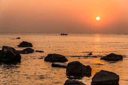 Taubennest, Qinhuangdao der Provinz Hebei, China Standard-Bild - 82479161