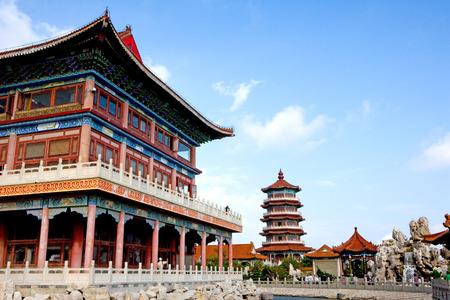 중국 산 동성 봉래 전시관