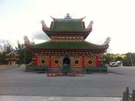 kelantan: Temple at Kelantan Stock Photo