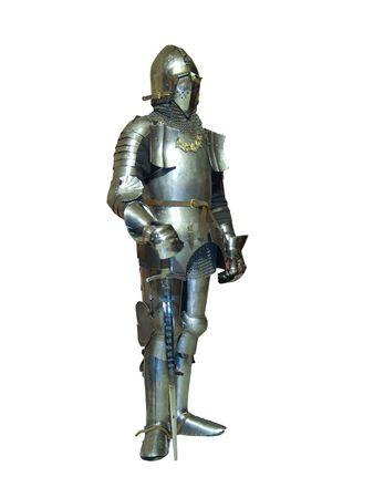 Ritter im Rüstung Ende XV des Alters