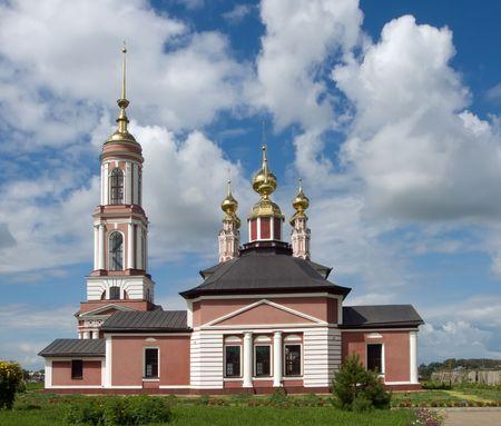 ortodox: Ortodox church in Suzdal (Russia) in summer Stock Photo