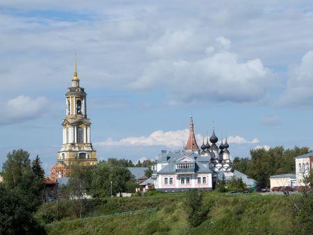 Ortodox church at Suzdal in summer. Russia photo