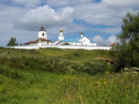vasiliev: Vasiliev monastery at Suzdal in summer. Russia Stock Photo