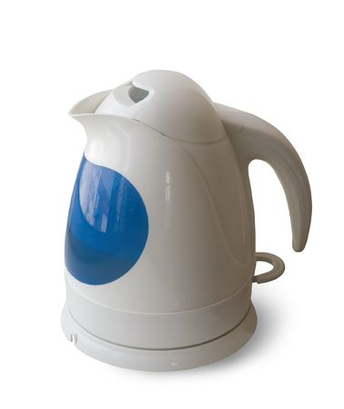 electric tea kettle. Isolated on white background Stock Photo - 3876065