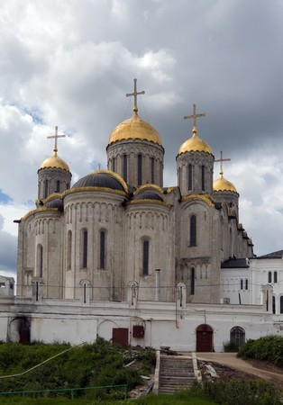 build in: Assumption cathedral in Vladimir, Build in 1192 by the Big Nest