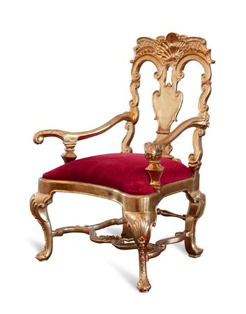 throne: Golden royaltys Throne.