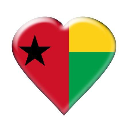 Icon of Guinea-Bissau. Illustration over white background Stock Illustration - 4919433