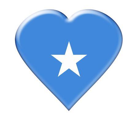 somali: Icono de somal�. Ilustraci�n sobre fondo blanco Foto de archivo