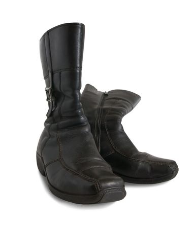 wintry: Black wintry womanish boots
