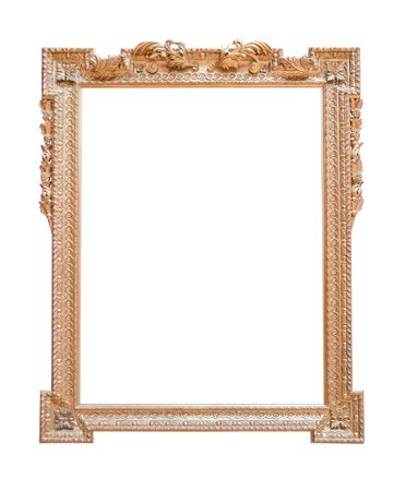 Vintage gold picture frame Stock Photo - 5720021