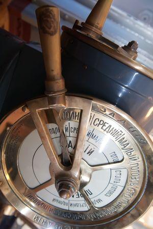 telegraaf: De snelheid telegraph zender op oude cruiser