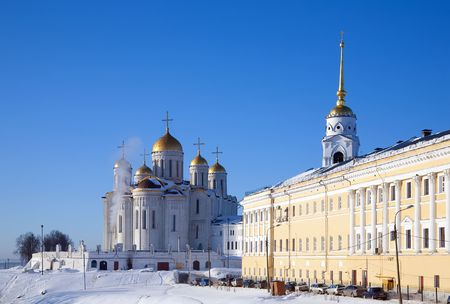 Assumption cathedral at Vladimir in winter, Russia Stock Photo - 6430959
