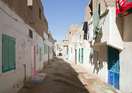penury: View of ordinary street at Al-Quseir, Egypt